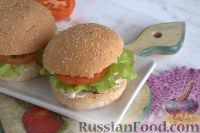 Фото к рецепту: Фишбургер