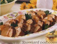 Фото к рецепту: Свиная вырезка в горчично-медовом маринаде