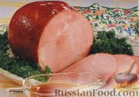 Фото к рецепту: Ветчина медово-горчичная