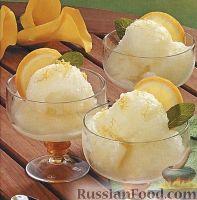 Фото к рецепту: Сорбет лимонный