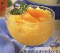 Фото к рецепту: Сорбет абрикосовый