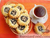 """Фото к рецепту: Печенье """"Подсолнух"""""""