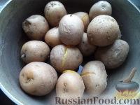 Фото приготовления рецепта: Картопляники с мясом - шаг №2