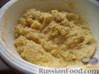 Фото приготовления рецепта: Картопляники с мясом - шаг №5