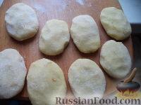 Фото приготовления рецепта: Картопляники с мясом - шаг №11