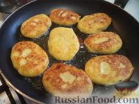 Фото приготовления рецепта: Картопляники с мясом - шаг №13