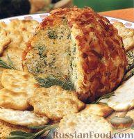 Фото к рецепту: Закуска из сыра и брокколи, с беконом