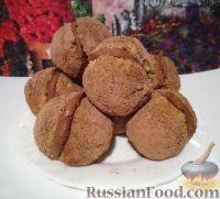 Фото к рецепту: Бисквитные пирожные с шоколадным кремом