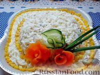 Рецепт салата с шляпка