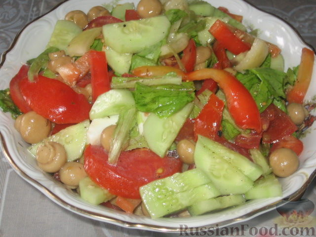 Рецепт Датский салат