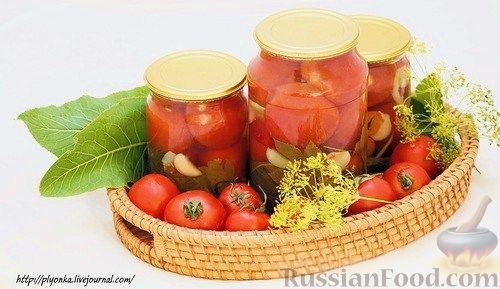 Рецепт Помидорчики маринованные
