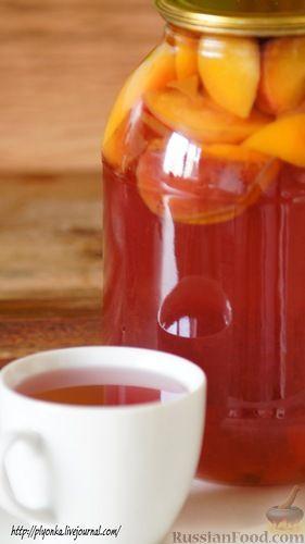 Рецепт Персиковый компот на зиму