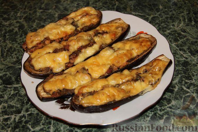 Рецепт Баклажаны с рубленой свининой
