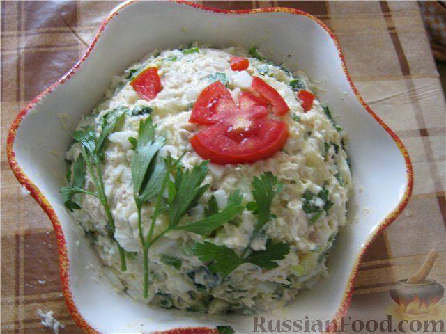 Делать салат из кур фил варен картошки варен яйц