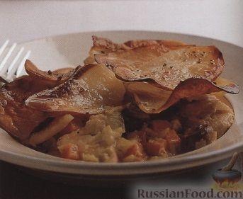 Рецепт Картофельное рагу с курятиной и грибами