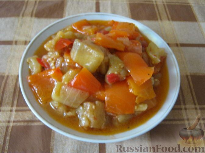 Рецепт Овощное рагу с баклажанами