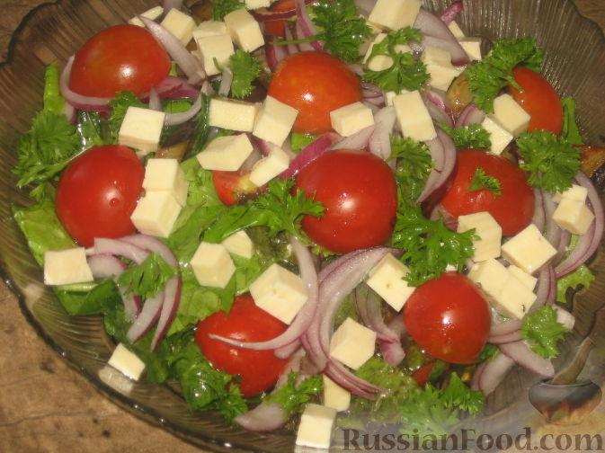 рецепт салат с баклажанами в кляре