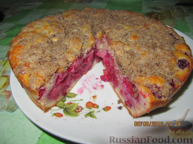 Рецепты малиной в духовке рецепт с фото