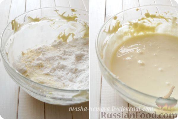 Рецепт Глазурь из творожного сыра - Cream Cheese Frosting