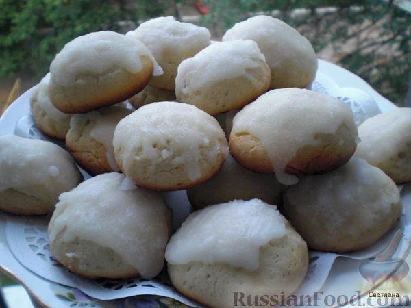 рецепт сметане на фото печенье
