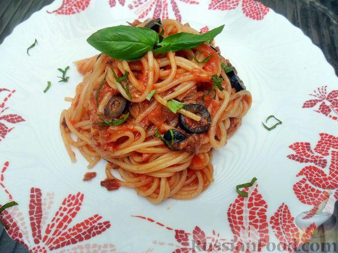Рецепт Спагетти путтанеска