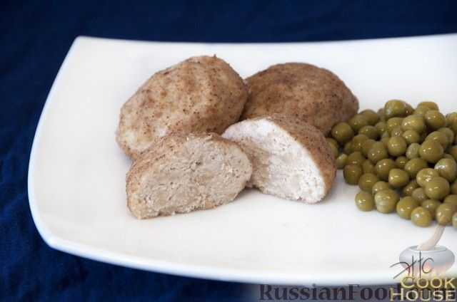 Рецепт Куриные котлеты на пару