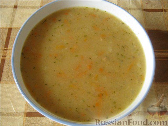 Рецепт Суп гороховый постный