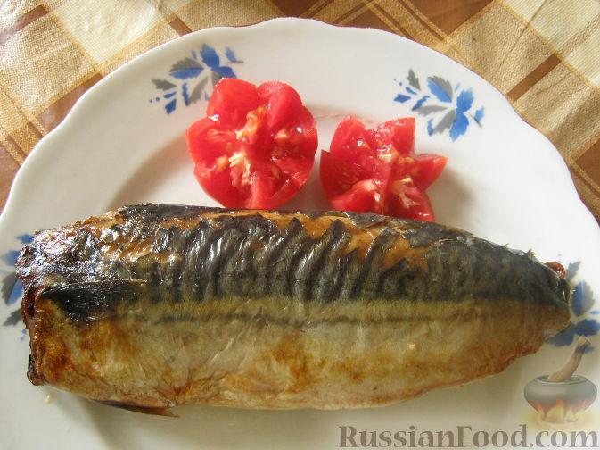 Рецепт с фото пошагово скумбрия запеченная в