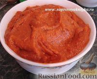 Фото к рецепту: Баклажанная или кабачковая икра из запеченных овощей в мультиварке