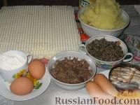 Фото приготовления рецепта: Ленивые пирожки из вафельных рулетов - шаг №1