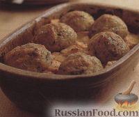 Фото к рецепту: Куриное филе с картофельными клецками