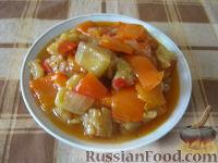 Фото к рецепту: Овощное рагу с баклажанами