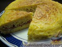 Фото к рецепту: Омлет с макаронами