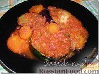 Фото к рецепту: Ассорти из кабачков, баклажанов и моркови с овощной икрой