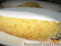 Фото к рецепту: Манник с морковью