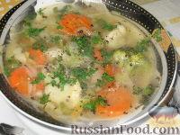 """Фото к рецепту: Суп """"Овощная феерия"""""""