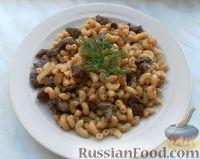 Фото к рецепту: Паста чиффери с говяжьей печенью и луком