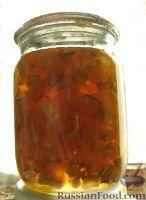 Фото к рецепту: Янтарное варенье. Кабачки + лимон