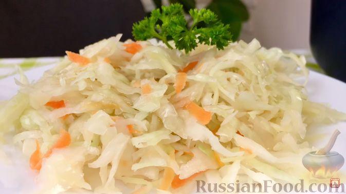 Фото приготовления рецепта: Торт из хлеба, со сметанным кремом и ананасами (без выпечки) - шаг №18