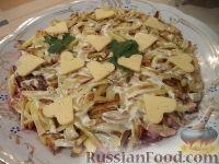 Фото к рецепту: Салат «Обжорка»