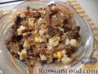 Фото к рецепту: Салат из печенки