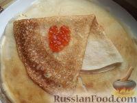 Фото к рецепту: Блины на кефире, с дырочками