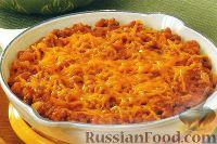 Фото к рецепту: Фасоль с говяжьим фаршем и сыром
