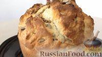 Фото к рецепту: Домашний хлеб с семечками