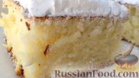 Фото к рецепту: Кекс на сливках