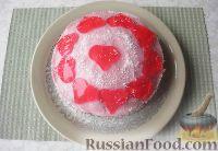 Фото к рецепту: Торт ко Дню святого Валентина