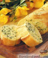 Фото к рецепту: Хлеб чесночно-луковый