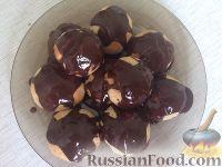 Фото приготовления рецепта: Шоколадная глазурь из какао - шаг №5
