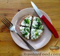 Фото к рецепту: Закуска из творога с чесноком и зеленью
