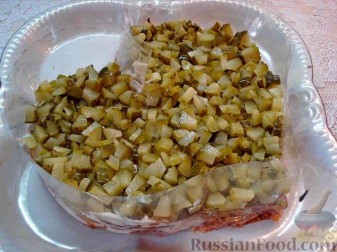 Фото приготовления рецепта: Творожно-сметанный десерт с апельсином и кукурузными хлопьями - шаг №6